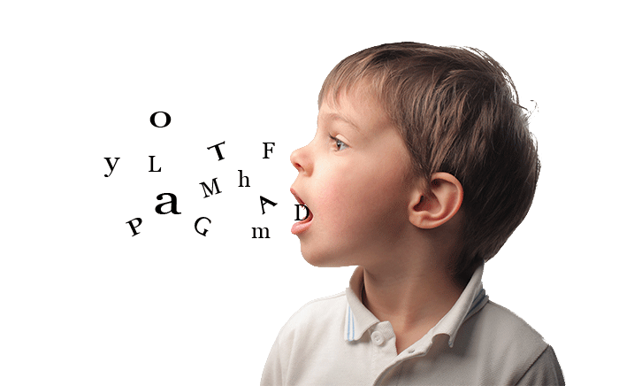 boy speech letters